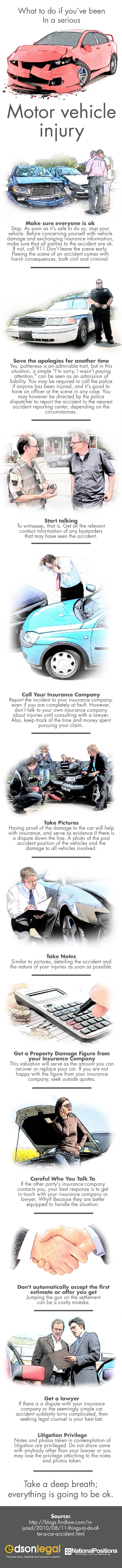 What To Do After A Motor Vehicle Accident | Edson Legal
